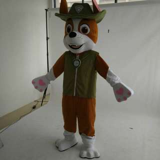 Paw Patrol Tracker Costume Mascot For Adult