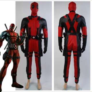 Deadpool Costume Outfit For Adult
