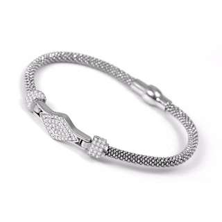 🎁FREE GIFT WITH THIS PURCHASE🎁Mesh Crystal Bracelet