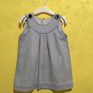 Little Miss Light Denim Dress