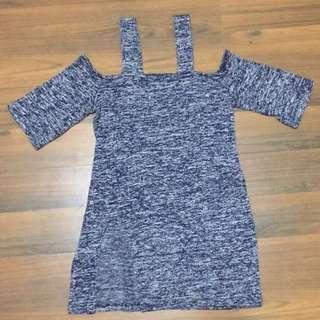 top sabrina, dress top, long top