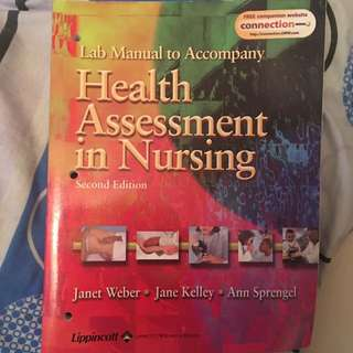 LippincotLab manual HEALTH ASSESSMENT IN NURSING
