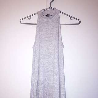 Cotton Grey Dress