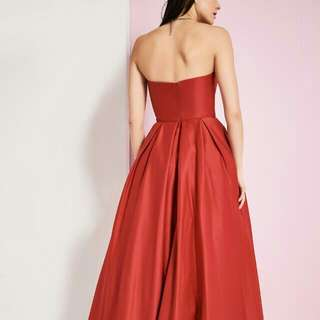 Laura Strapless Satin Ball Gown