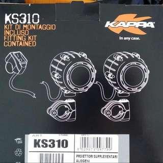 KS310 Givi/kappa Fog light 12v 55watt yellow light