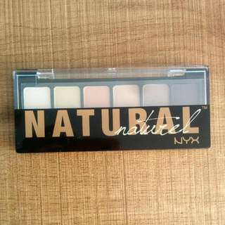 Natural NYX 6 Shadow Palette Eyeshadow Brand New [ASOS edition]