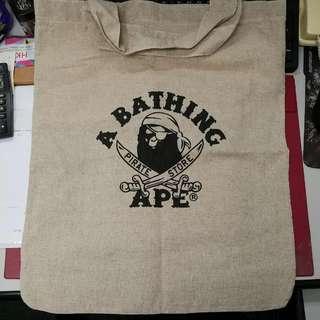 A Bathing Ape 麻質環保袋