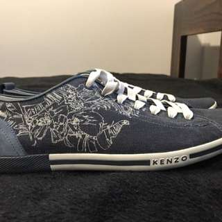 New Mens Kenzo Tina Low Cut Sneakers US 9.5