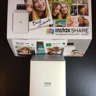 INSTAX SHARE SMARTPHONE SP-2 Silver