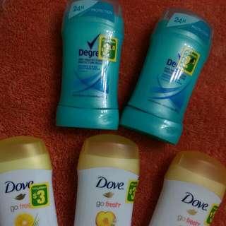 Deodorant lot