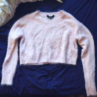 Cute Soft & Fluffy Crop Sweater