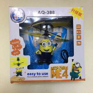 Minion Flying Toy with Sensor