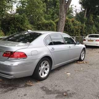 BMW 730Li (6.5 Months Left)