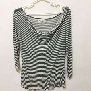 Zara Blouse Stripes (Size S)