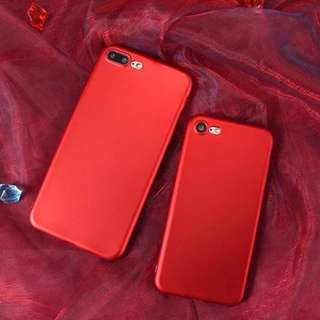 READY STOCK SIMPLE COLOR SOFTCASE CASE CASING HARDCASE JELLYCASE RUBBERCASE IPHONE 6/6s iPhone 6+/6s+ iPhone 7 iPhone 7+