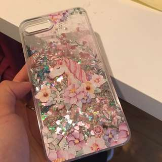 pink iPhone 7 Plus Phone Case Unicorn