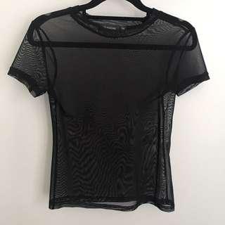 Mesh T Shirt