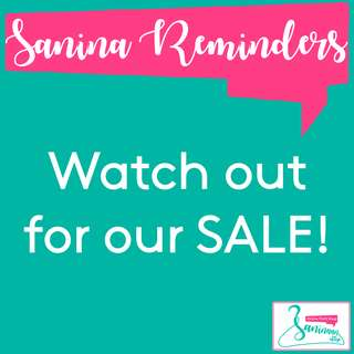 Watch out for our SALE this week!