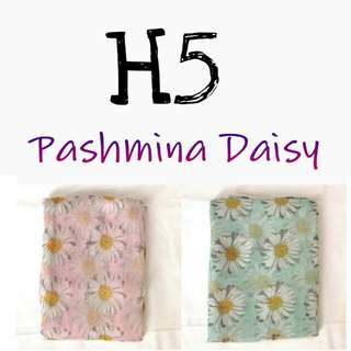 Take All 50rb Pashmina Daisy BARU