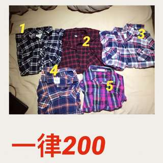 🚚 各色襯衫出清200#交換最划算
