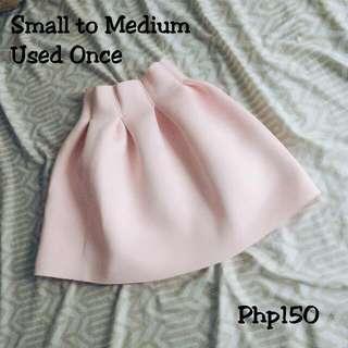 Pink Balloon Skirt