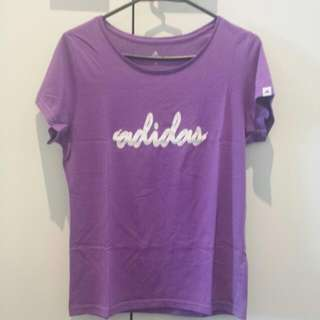 Purple Adidas T-Shirt