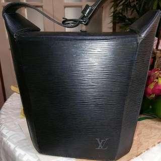 Authentic Louis Vuitton Epi Black Bag