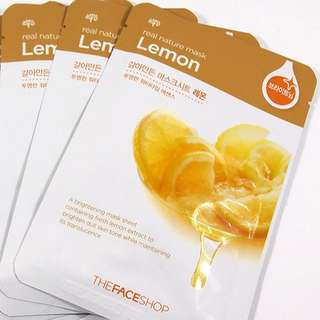 The Faceshop Real Nature Mask (Lemon)