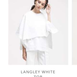 WHITE BLOUSE ATS THE LABEL