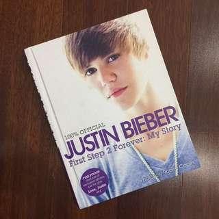 JUSTIN BIEBER 100% Official First Step 2 Forever: My Story Biography