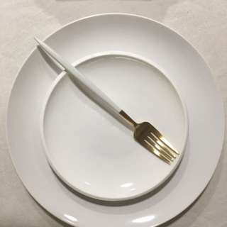 全新ikea純白主餐盤(大)
