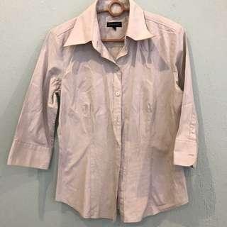 [Reduced!] Padini beige work shirt
