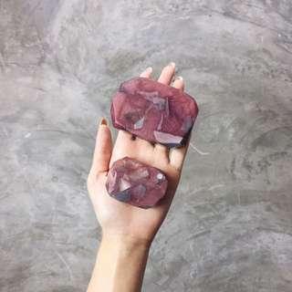 Crystal Gemstone Hand Soap Bar (slightly Scented)