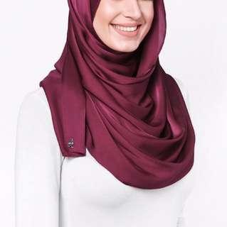 Red Velvet Satin Silk