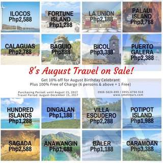 Travel On Sale!!!