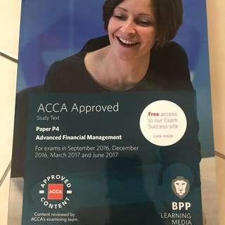 ACCA BPP P4 Advanced Financial Management Study Text