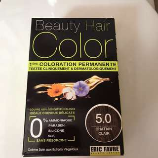 Eric Favre Permanent Hair Color 5.0 Light Chestnut Brown