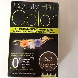 Eric Favre Permanent Hair Color 5.3 Light Golden Chestnut.