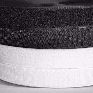 Adhesive Velcro Hook & Loop Tape - 25mm width