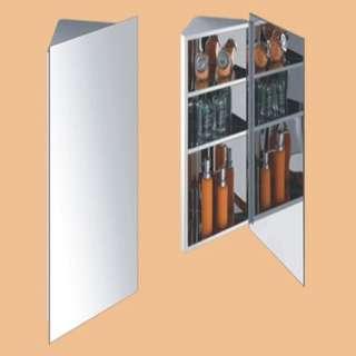 CHR-4K DIO, Mirror Cabinet, 201# Stainless Steel, 380 X 650 X 210MM