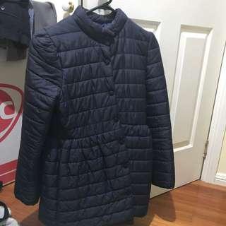 puffy coat super light weight S6-8