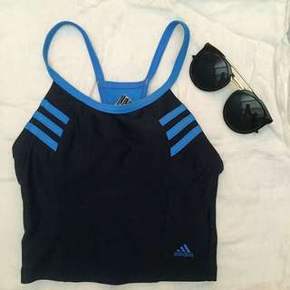 ORIGINAL ADIDAS Swimwear Top (can also Be a workout Top)
