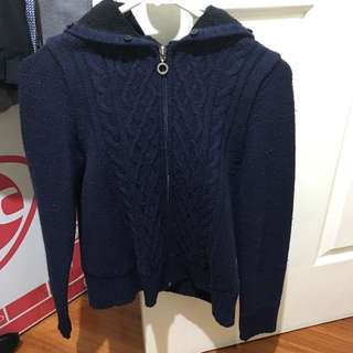 Navy Jumper Size Small