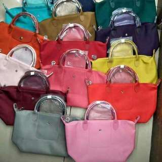 Authentic Long Champ Cute Colors Bags