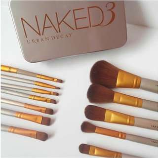 Naked 3 Brush Set (12Pcs)
