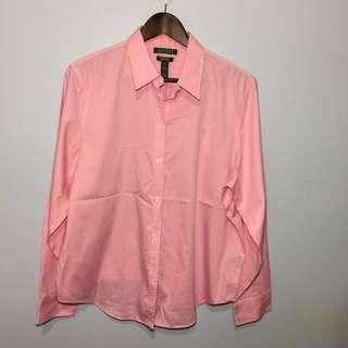RALPH LAUREN Pink Shirt XL