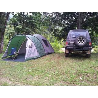 Original Coleman 6 Family Tent