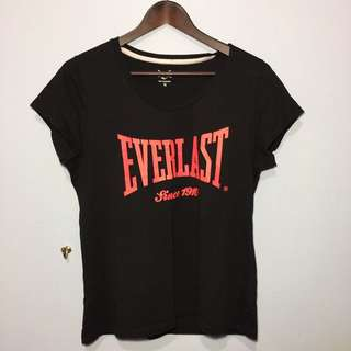 EVERLAST Black T-Shirt Size 16