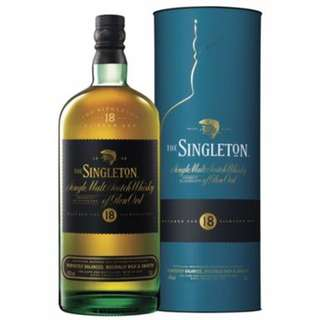 Singleton 18year single malt scotch whisky 威士忌