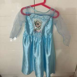 Frozen Character Dress 5-6 Years Ild